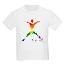 Gay Pride - Be Yourself Kids T-Shirt