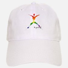 Gay Pride - Be Yourself Baseball Baseball Cap