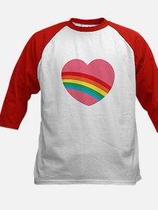80s Rainbow Heart Tee