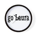 go Laura Wall Clock
