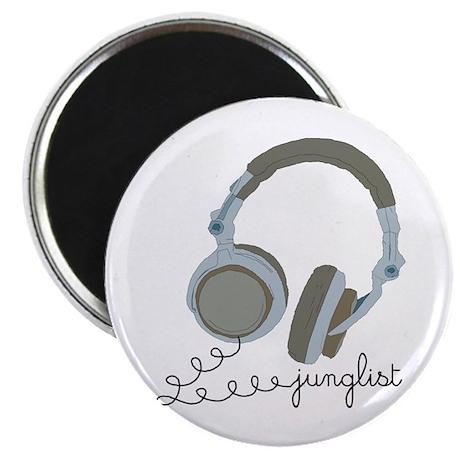 "Junglist Headphones 2.25"" Magnet (100 pack)"