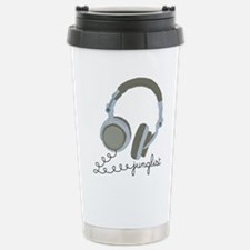 Junglist Headphones Travel Mug