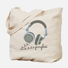 Junglist Headphones Tote Bag