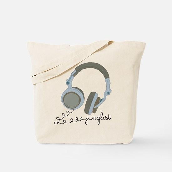 Junglist Headphones Tote Bag
