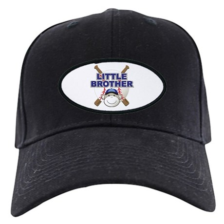 Little Brother Baseball Black Cap