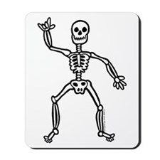 ILY Skeleton Mousepad