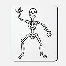 ILY Skeleton Mousepad