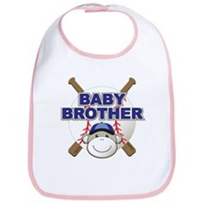 Baby Brother Baseball Bib