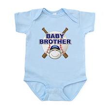 Baby Brother Baseball Infant Bodysuit