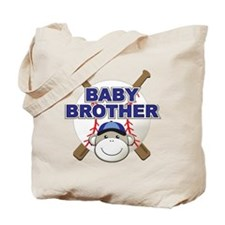Baby Brother Baseball Tote Bag
