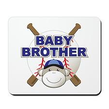 Baby Brother Baseball Mousepad