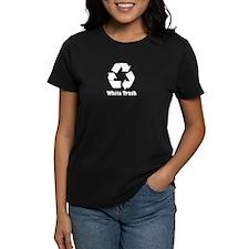 Women's Dark White Trash T-Shirt