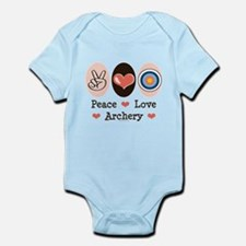 Peace Love Archery Infant Bodysuit