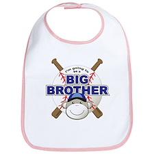 Big Brother To Be Baseball Bib