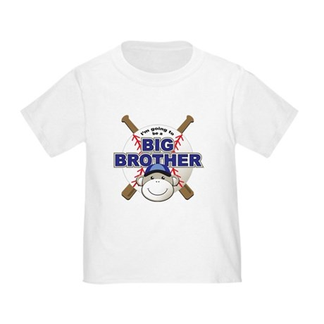 Big Brother To Be Baseball Toddler T-Shirt