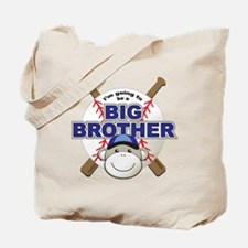 Big Brother To Be Baseball Tote Bag