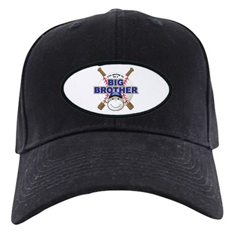 Big Brother To Be Baseball Black Cap