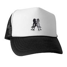NBlkW NMrlW Lean Trucker Hat