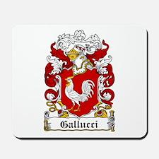 Gallucci Family Crest Mousepad