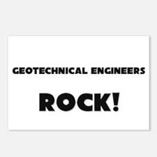 Geotechnical Engineers ROCK Postcards (Package of