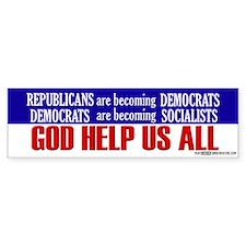 God Help Us All - Bumper Bumper Bumper Sticker