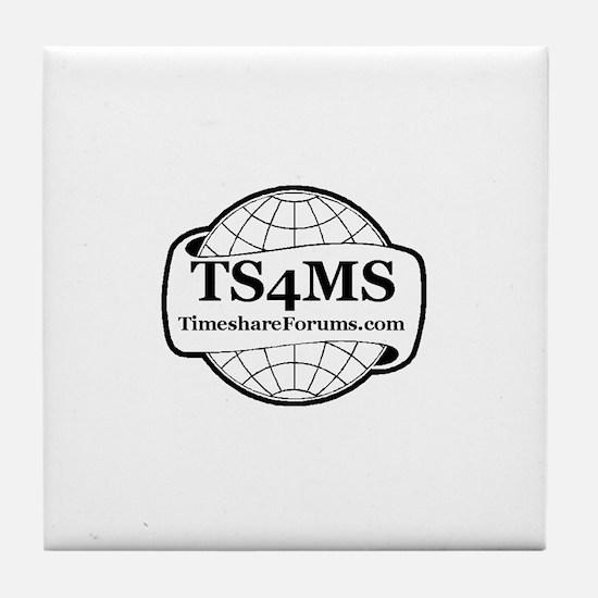 Funny Timeshare Tile Coaster