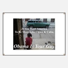 """Obama Is Your Guy?"" Banner"