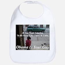 """Obama Is Your Guy?"" Bib"