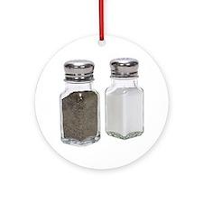 Some Salt & Pepper On Your Keepsake (Round)