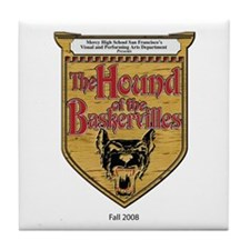 Hound of Baskervilles Tile Coaster