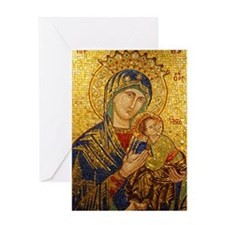 Our Lady of Perpetual Help Christmas Card - Love