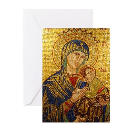 Our Lady of Perpetual Help Christmas Card - Formal