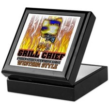 Nevada Grilling Keepsake Box