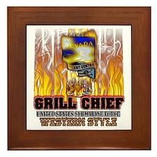 Nevada Grilling Framed Tile