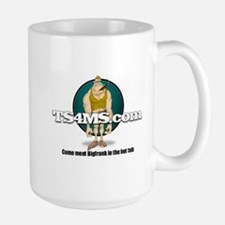 hot tub cigar logo Mugs