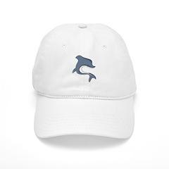 Stylized Dolphin Baseball Cap