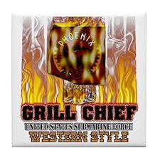 Phoenix Grilling Tile Coaster