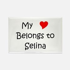 Cute Selina Rectangle Magnet