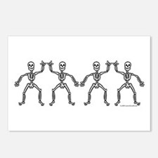 ILY SkelDance Postcards (Package of 8)