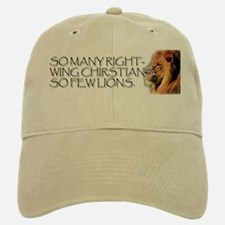 So Many Right Wing Christians Baseball Baseball Cap