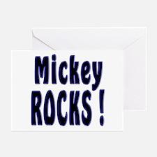 Mickey Rocks ! Greeting Cards (Pk of 10)