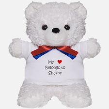 Shayne name Teddy Bear