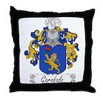 Garofalo Family Crest Throw Pillow