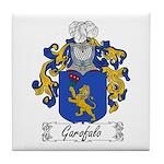 Garofalo Family Crest Tile Coaster