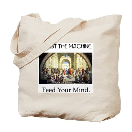 """""""Feed Your Mind"""" Tote Bag"""