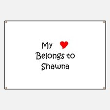Unique Shawna Banner