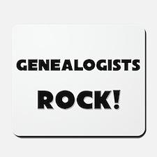 Genealogists ROCK Mousepad