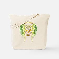 LT Basketball Tribal Skull Tote Bag
