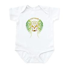 LT Basketball Tribal Skull Infant Bodysuit