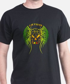 LT Basketball Tribal Skull T-Shirt